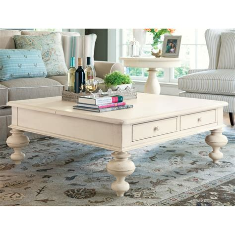 paula deen coffee table paula deen home put your up square linen wood lift