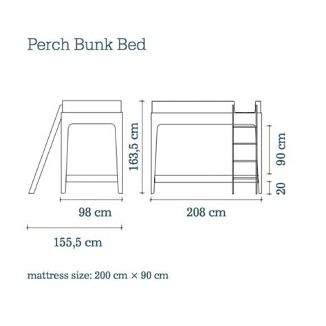 Bunk Bed Mattress Dimensions by Bunk Bed Mattress Size Mattress For Bunk Bed