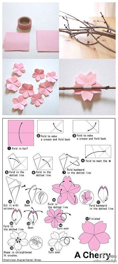 Best Origami Creations - 25 best ideas about origami flowers on paper