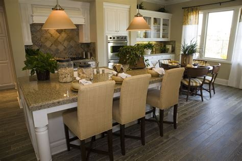 eat on kitchen island 39 fabulous eat in custom kitchen designs
