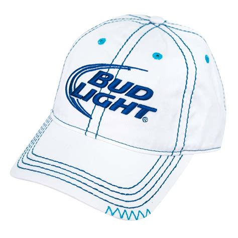bud light platinum hat bud light ladies stitched hat