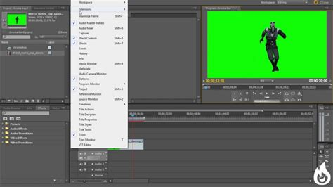 adobe premiere pro green screen adobe premier pro green screen chroma key tutorial