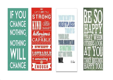 printable bookmarks with inspirational quotes bookmarks with inspirational encouraging quotes i made