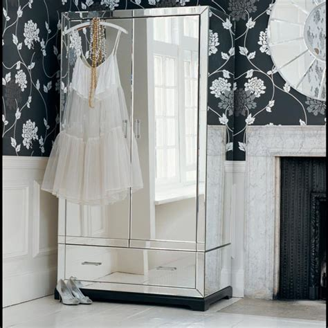 mirrored clothing armoire altea 5 drawer chest of mirrored wardrobe laura ashley