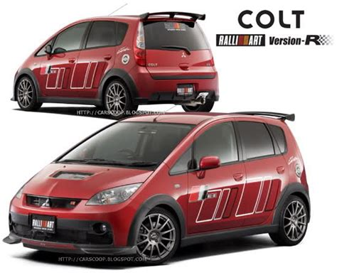 mitsubishi colt turbo ralliart mitsubishi colt ralliart version r carscoops
