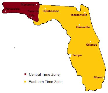 us time zones map florida www.proteckmachinery.com