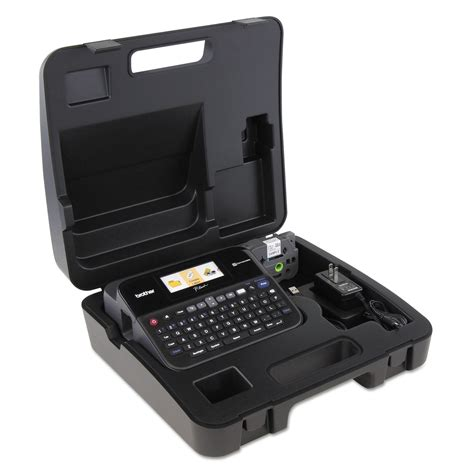 pt d600vp pc connectable label maker with color display and carry by p touch