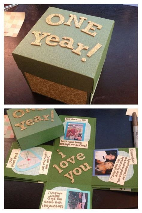 First Year Wedding Anniversary Gift Ideas For Him   cute