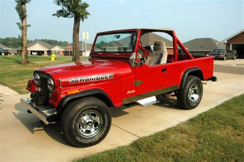 amc jeep scrambler 1982 amc jeep cj8 scrambler jeep cj7
