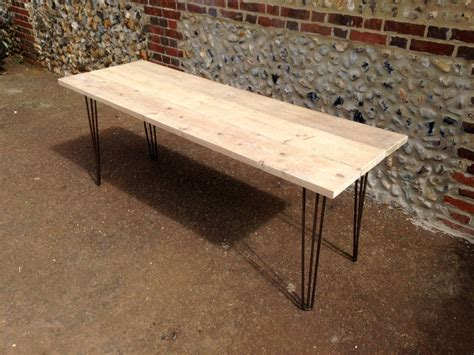 Diy Seating Bench Reclaimed Scaffold Board Dining Table By Gas Amp Air Studios