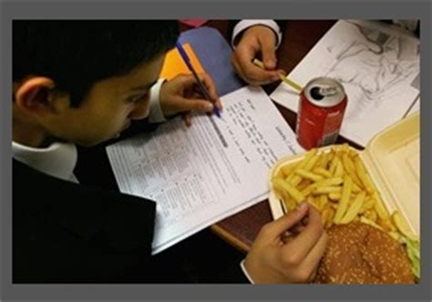 should fast food chains and other junk food be banned from