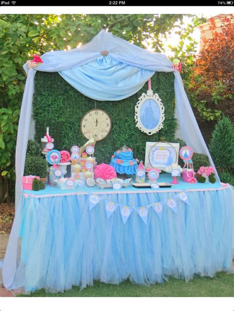 cinderella themed decorations 1000 images about baptismal ideas on