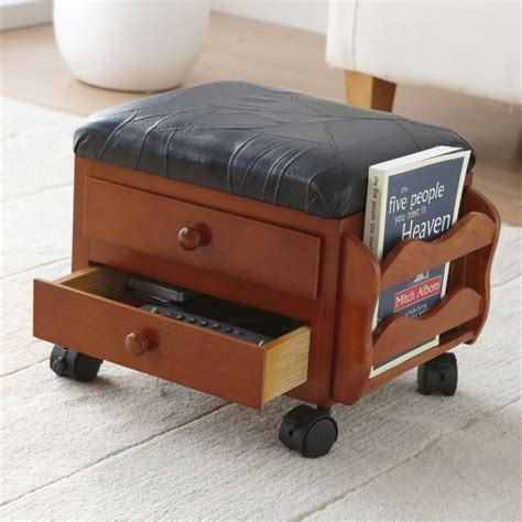 Small Footstool With Storage Organize Your Living Room Get Rid Of Clutter