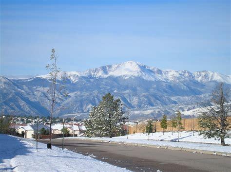 colorado springs snow in colorado springs picture denver pueblo fence move