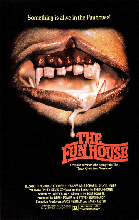 the fun house the funhouse poster 1981 photograph by everett