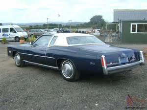 500 Cubic Inch Cadillac Engine For Sale 1975 Cadillac Eldorado 500 Cubic Inch 8 2 Litre V8 26 000