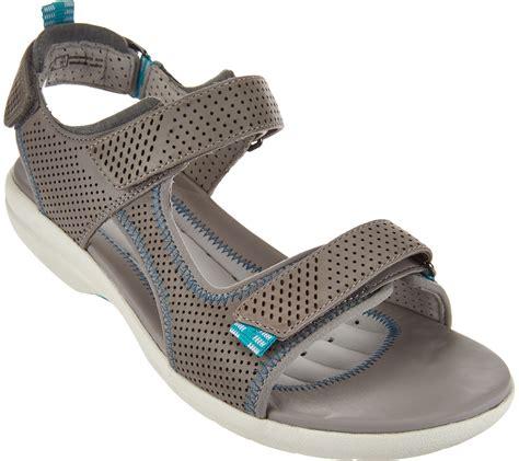 clarks sport sandals quot as is quot clarks unstructured leather sport sandals un