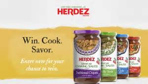 herdez mexican cooking sauces sweepstakes win a 10 walmart gift card more
