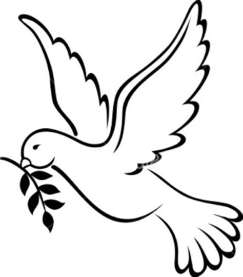 Printable Peace Signs Cliparts Co Peace Dove Coloring Page