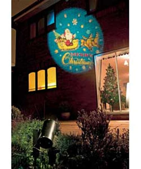 rotating outdoor projector christmas light review