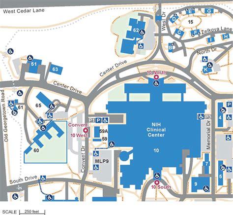 nih map northwest section
