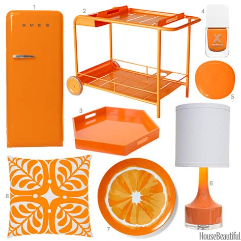 orange home and decor bright orange accessories bright orange home decor