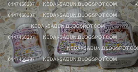 Bedak Botox by 0164360516 Produk Kecantikan Thailand Gluta 200 000 Mg