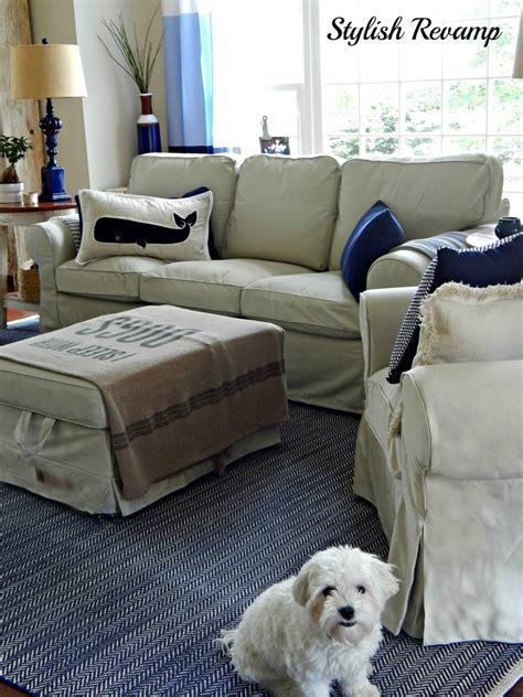 sunroom reveal  ikea ektorp furniture stylish revamp
