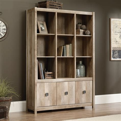 Wall Bookcases With Doors Sauder Storage Wall Lowe S Canada