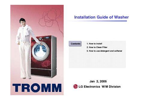 Download Lg Tromm Washer Repair Manual Free Softkeyhire