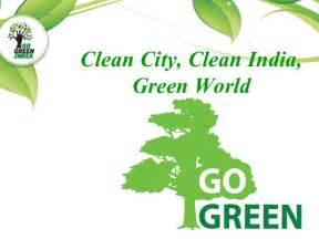 Clean Green City Essay by Utsavsthakor January 2015