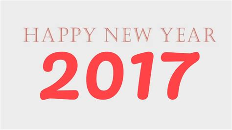 happy new year 2017 king xavid wishes you a very happy