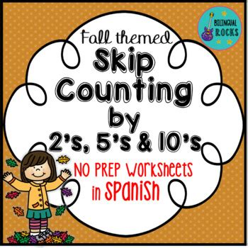Gasing Mathematics Bilingual 5b skip counting by 2 s 5 s and 10 s worksheets in