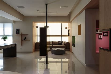 design apartment taiwan nature inspired details shaping modern family apartment in