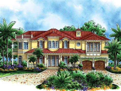 two story mediterranean house plans two story mediterranean hwbdo15164 mediterranean from builderhouseplans com