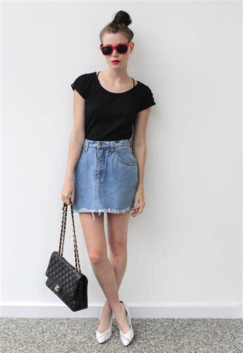 vintage skirts dressed up