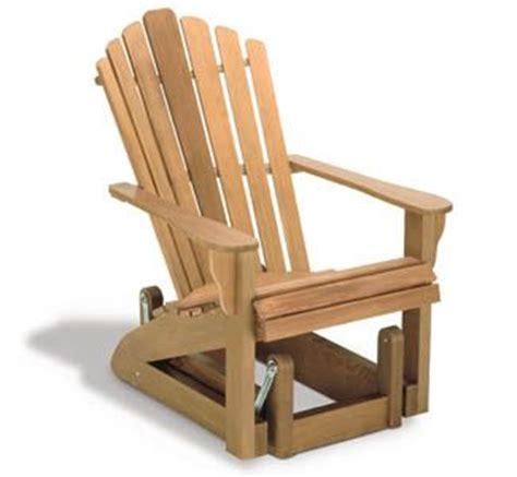 Gliding Adirondack Chair Plans by Adirondack Glider Chair Wood Project Plan For The Home