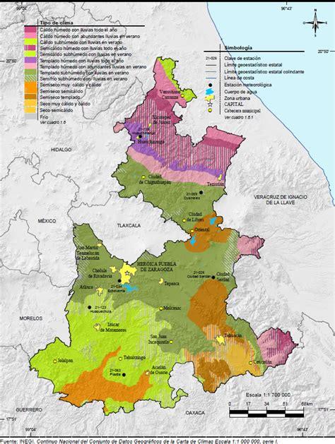 mapa de puebla mexico pin mapa clim 161 tico de salta on pinterest
