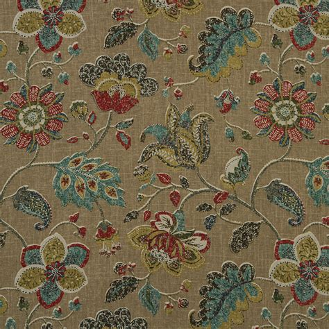 abstract upholstery fabric teal red fabric abstract floral upholstery fabric modern