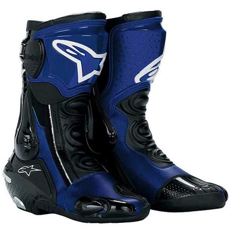 racing boots alpinestars s mx plus racing boots blue