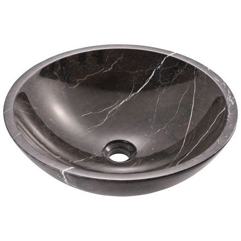 Black Marble Sink by Mr Direct Vessel Sink In Black Marble 851 The Home
