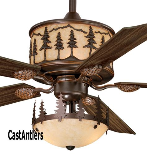 wine barrel ceiling fan standard size fans quot yukon ceiling fan w light kit
