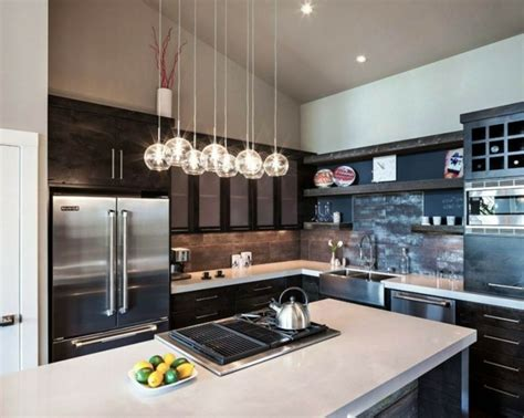 modern kitchen pendant lighting ideas la suspension luminaire en fonction de votre int 233 rieur