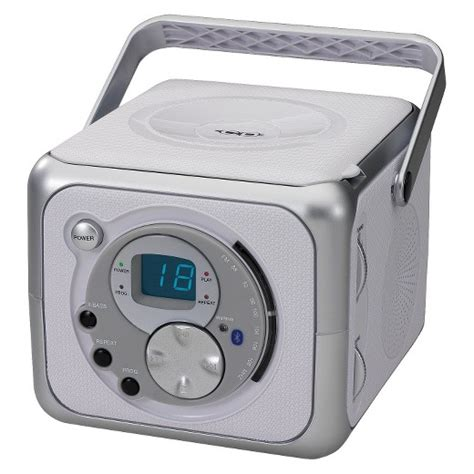 bedroom cd player jensen portable bluetooth music system with cd player