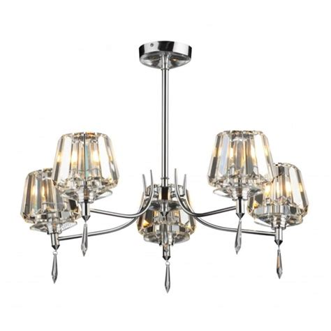 dar ceiling lights dar sel0550 selina 5 light modern ceiling light semi flush