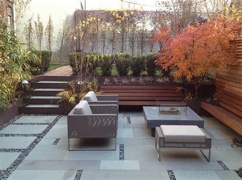 modern small backyard designs sunken seating areas that spark conversations