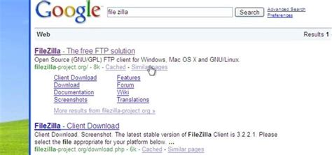 tutorial filezilla xp how to use the free filezilla ftp client on a windows xp