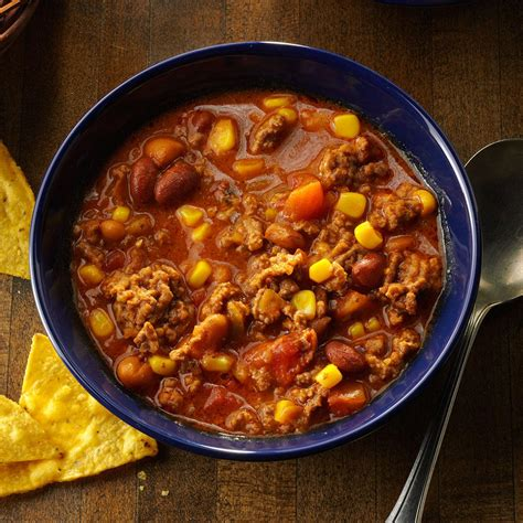 simple taco soup recipe taste of home