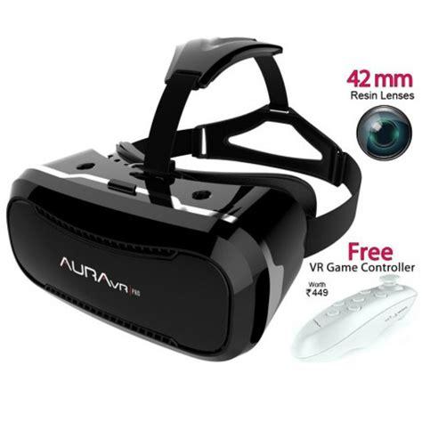 auravr pro vr headset having 42mm lenses & improved lens