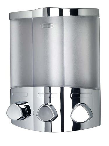 Dispenser Sabun Chrome trio chrome wall mounted soap dispenser ebay